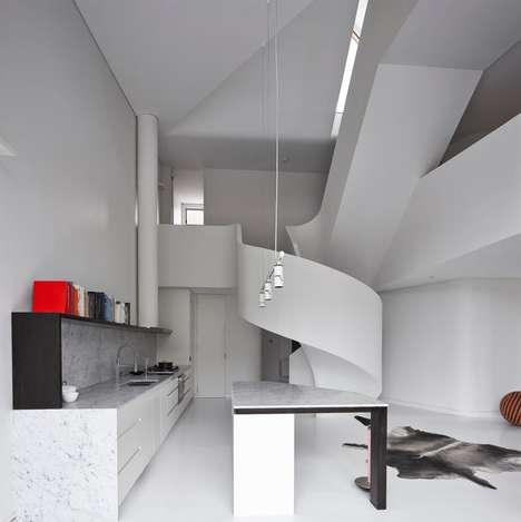 Geometric Industrial Apartments