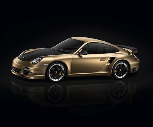 12 Gold-Plated Vehicles