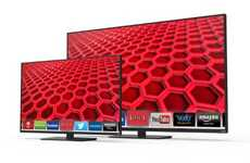 Dimming LED Televisions - Vizio's Line of E-Series TVs Provides Local Dimming and WiFi