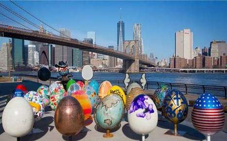 Artistic NYC Easter Hunts - 'The Big Egg Hunt NY' Kicks Off April with its Easter Egg Hunt