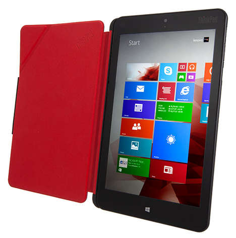Office-Friendly Lightweight Tablets - The Lenovo Thinkpad 8 is the Newest Feature of Windows Tablets