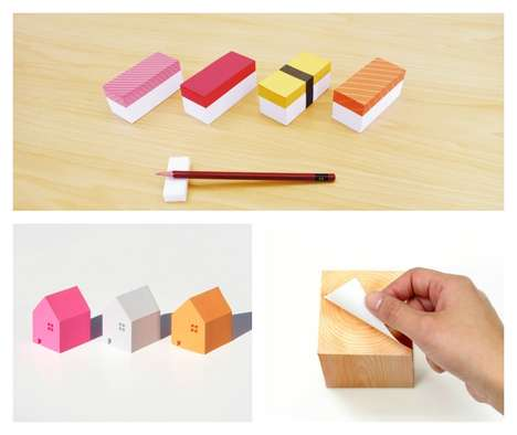 Sushi Memo Pads - Kenjiro Sano's Playful Pads Will Make You Smile