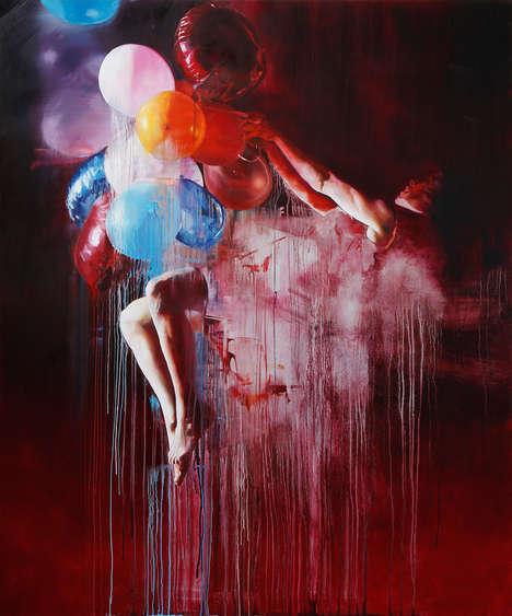 Gravity-Defying Paintings