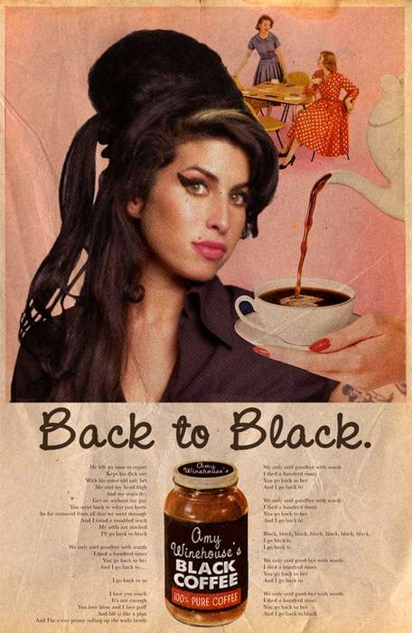 Celebrity Retro Ad Art - David Redon's Work Places Current Stars in Vintage Ads