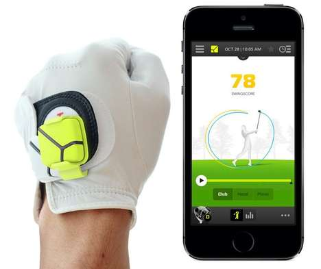 Smartphone Golf Training Systems - Zepp Unveiled its 3D Golf Training System for Golf Enthusiasts