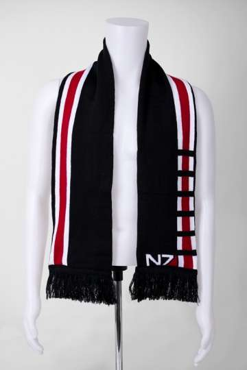 Video Game Scarves - Show Off Your Gamer Pride with This N7 Scarf