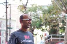 AR Money Management Apps - The Pocketbook Google Glass App is a Powerful Expense Tracker