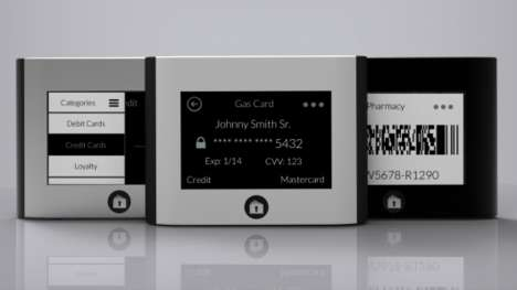Card-Generating Smart Wallets - The 'Wocket' Generates Electronic Versions of Debit and Credit Cards