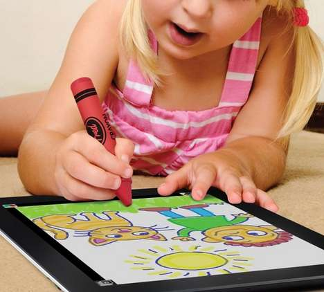 Touch Device Drawing Tools - The iCreate Crayon Stylus Allows You to Draw on Tablets and Phones