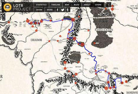 Interactive Fantasy Movie Maps