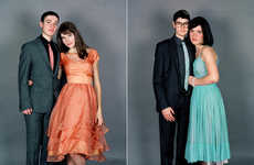 Gender Swapped Prom Dates - Switch by JJ Levine Takes Awkward School Dance Photos to Next Level