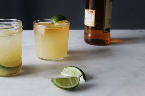 Boozy Ginger Cocktails