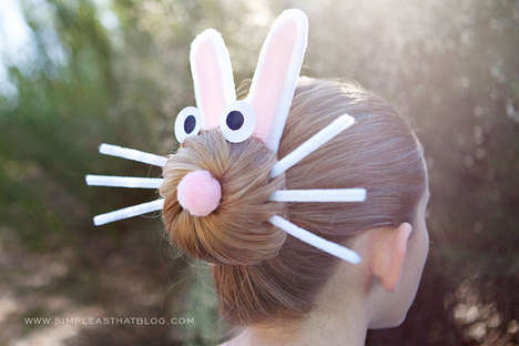 DIY Easter Bunny Hairdos - Why Not Turn Your Bun into a Bunny?