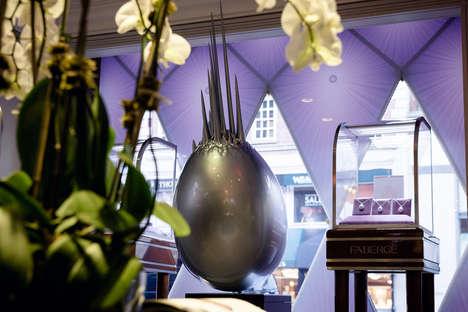 Egg-Shaped Sculptures
