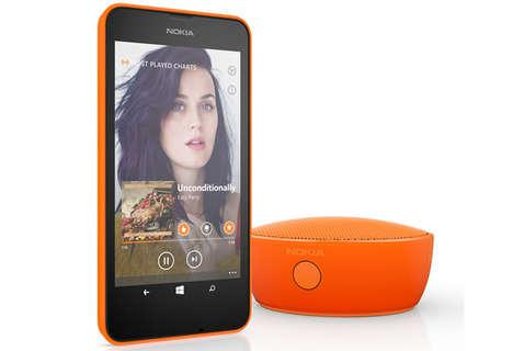 Apple-Sized Bluetooth Speakers