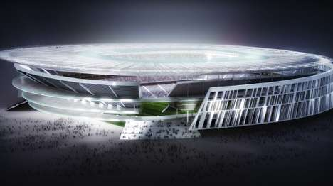 Colosseum-Inspired Soccer Stadiums