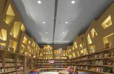 Curvaceous Colorful Kid's Libraries