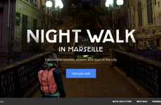 Virtual French Tours - Google Night Walk Will Let Users Take a Virtual Tour of Marseilles