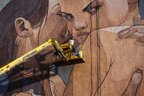 Devious Industrial Street Art