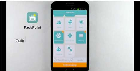 Luggage-Measuring Packing Apps - The PackPoint App Will Make Sure You Never Under or Overpack Again