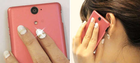Illuminating WiFi Manicures - Takara Tomy Arts Has Created Nails for the Internet-Lover