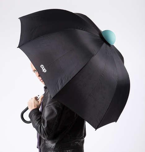 Drip-Preventing Parasols