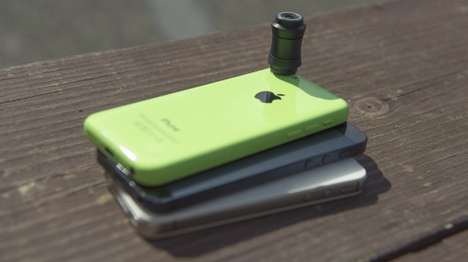 Blurry Smartphone Camera Lenses