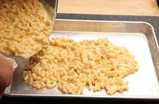 Cheesy Noodle Breakfasts - J.Kenji Lopez-Alt Created a Bizarre Macaroni & Cheese Breakfast Waffle