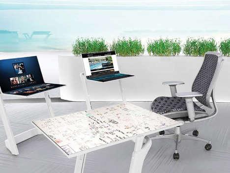 Convertible Computer Desks