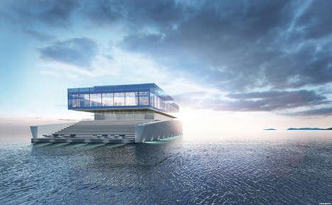 Opulent Glass Yachts