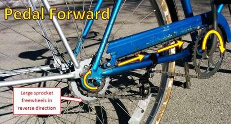 Bi-Directional Pedaling Bicycles