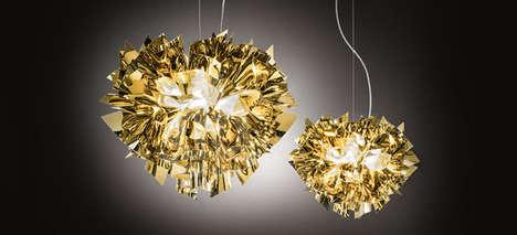 Radiant Ribbon Lamps