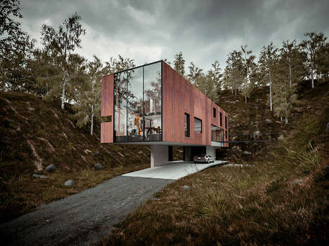 Luxurious Block-Shaped Homes