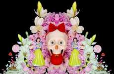 Femininely Morbid Still Lifes - Through the Mirror by Christina Burns Explores Purity and Sin