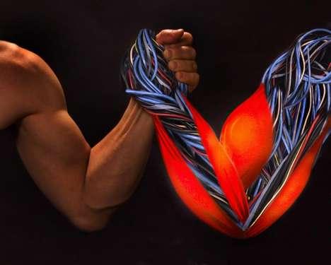 Self-Healing Muscles