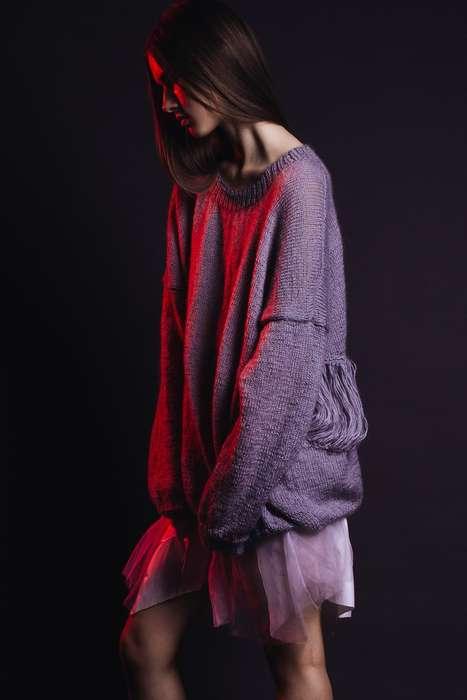 Moodily Layered Fashion Shoots