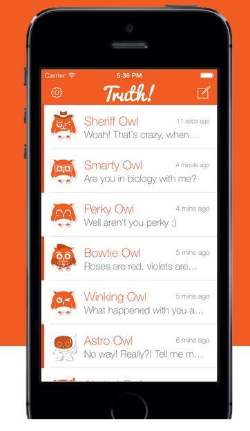 Anonymous flirting app