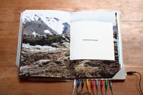 Sound-Emitting Coffee Table Books - 'Hvisl – Whispers Of Iceland' is Exceptionally Immersive
