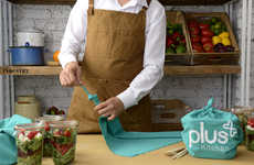 Versatile Health Food Packaging - Containers for Plus Kitchen Foods Make Eating Healthy a Snap