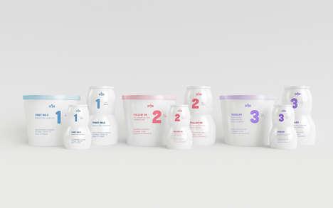 Numeric Baby Food Branding