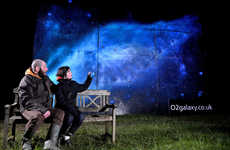 Starry Bioluminescent Billboards