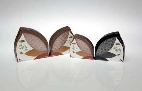 Wholesome Rice Paper Packaging - Kim Soonhee's Rice Paper Branding is Simple & Evocative of Nature