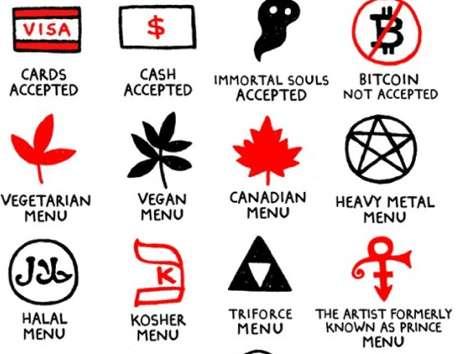 Quirky Menu-Decoding Illustrations