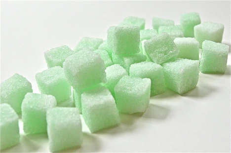 Refreshing Mint Sugar Cubes