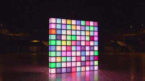 Pixelated Art Illuminators