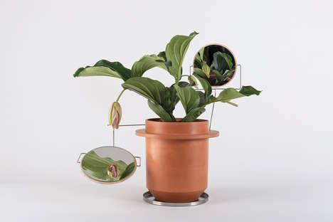 Interactive Accessorized Plant Pots