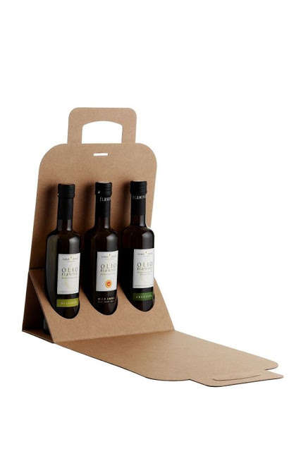 Recyclable Cardboard Bottle Carriers - These Cardboard Container Designs Are Extremely Eco-Friendly