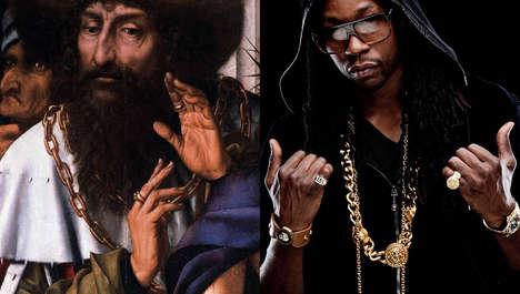 Historic Rapper Comparison Captures
