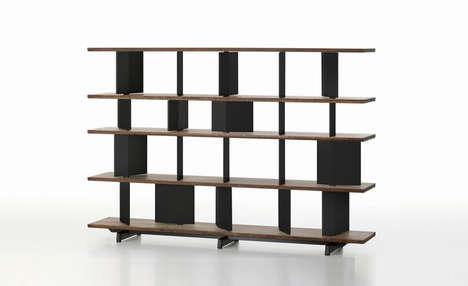 Stylishly Versatile Shelves