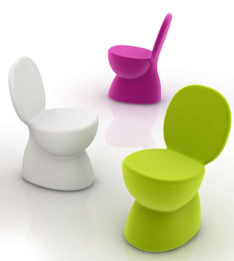 Toilet-Shaped Seating